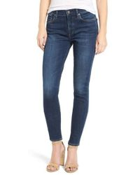 Agolde - Sophie High Rise Ankle Skinny Jeans - Lyst