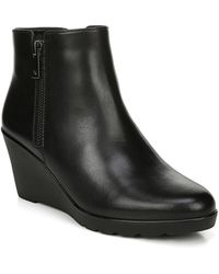 Naturalizer - Landry Water Resistant Wedge Bootie - Lyst