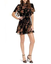 BISHOP AND YOUNG - Bishop + Young Victoria Burnout Minidress - Lyst