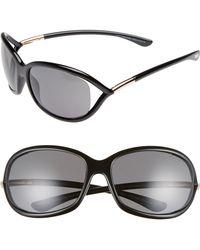 Tom Ford - Jennifer 61mm Polarized Open Temple Sunglasses - - Lyst