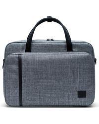 Herschel Supply Co. Gibson Travel Briefcase - Blue