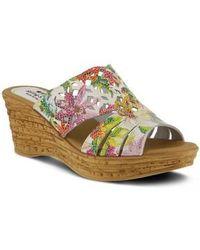 Spring Step   Viniko Platform Wedge Sandal   Lyst