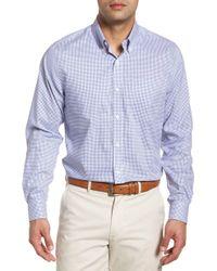 Cutter & Buck - Tattersall Classic Fit Non-iron Sport Shirt - Lyst
