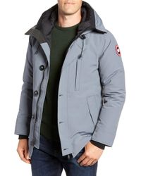 Canada Goose Chateau Slim Fit Down Parka - Gray