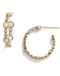 Melinda Maria - Allison Hoop Earrings - Lyst