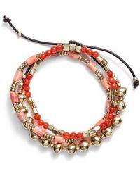 Treasure & Bond - Semiprecious Stone Beaded Bracelet - Lyst