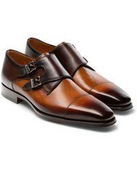 Magnanni - Jaden Water Resistant Monk Shoe - Lyst