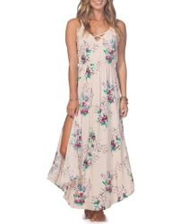 Rip Curl - Sweet Nothing Maxi Dress - Lyst