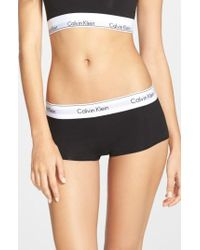 CALVIN KLEIN 205W39NYC - Modern Cotton Collection Boyshorts - Lyst