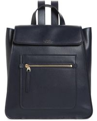 Smythson - Hero Small Leather Backpack - - Lyst