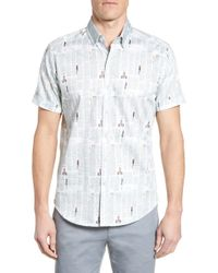 Robert Graham - Newsprint Tailored Fit Sport Shirt - Lyst