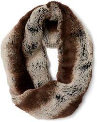 Badgley Mischka - Faux Fur Collar - Lyst