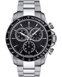 Tissot - V8 Chronograph Bracelet Watch - Lyst