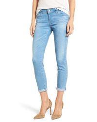 AG Jeans - The Stilt Crop Skinny Jeans - Lyst