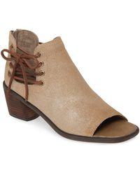 Otbt Prairie Open Toe Boot - Brown