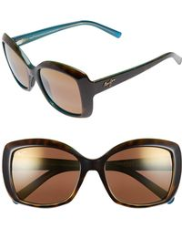 Maui Jim - Orchid 56mm Polarizedplus2 Sunglasses - Lyst