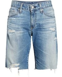 AG Jeans - Nikki Cutoff Denim Shorts - Lyst