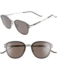 d7285b32581d Lyst - Dior Homme Tinted 0088 s Sunglasses Silver in Metallic for Men