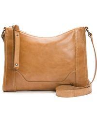 Frye - Melissa Zip Leather Crossbody Bag - Lyst