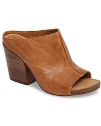 Isola - Isabella Leather Clogs - Lyst