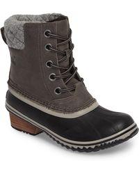 Sorel - Slimpack Ii Waterproof Boots - Lyst