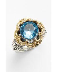 Konstantino 'hermione' Semiprecious Stone Ring - Metallic