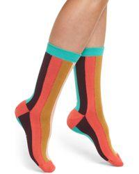 Paul Smith - Hazel Vertical Stripe Socks - Lyst