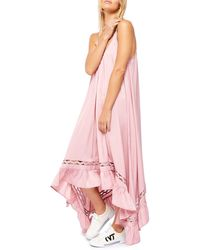 Free People Amor Amor Maxi Slipdress - Pink