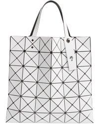 1bfa77fd30 Lyst - Bao Bao Issey Miyake Lucent Tote Bag in White