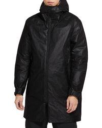 Nike Sportswear Tech Pack Weather Resistant Hooded Coat - Black