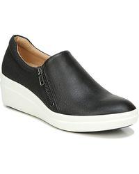 Naturalizer Sierra Wedge Sneaker - Black