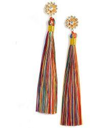Mad Jewels - Dolce Tassel Earrings - Lyst