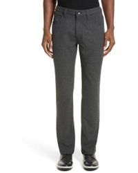 Armani - Flannel Sport Pants - Lyst