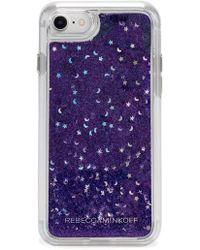 Rebecca Minkoff - Galaxy Glitter Iphone 7/8 & 7/8 Plus Case - Lyst