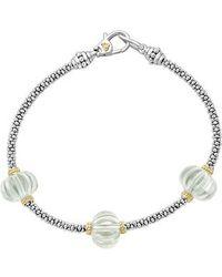 Lagos - Caviar Forever Melon Bead Station Bracelet - Lyst