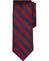 Brooks Brothers - Thick Stripe Silk Tie - Lyst