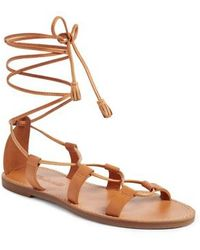 Madewell - The Boardwalk Lace-up Sandal - Lyst