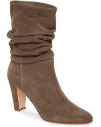 Manolo Blahnik Shushan Slouch Boot - Brown