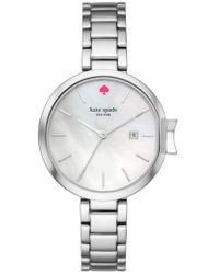 Kate Spade - Park Row Bracelet Watch - Lyst