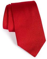 Gitman Brothers Vintage Solid Silk Tie - Red