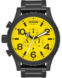 Nixon 'the 51-30 Chrono' Watch - Yellow