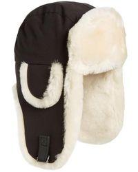 Canada Goose - Genuine Shearling Copilot Hat - Lyst