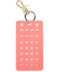 Kate Spade - Coral Id Clip - Coral - Lyst