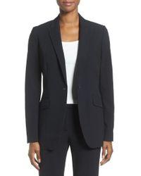 Anne Klein - Long Boyfriend Suit Jacket - Lyst