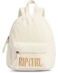 Rip Curl Mini Legacy Canvas Backpack - Natural