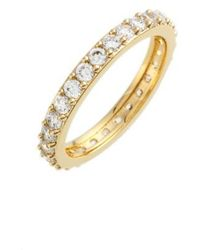 Nadri - Cubic Zirconia Pave Band Ring - Lyst