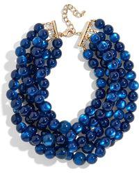 BaubleBar - Cassarah Beaded Multistrand Necklace - Lyst
