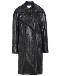 Yigal Azrouël - Oversized Laminated Tweed Coat - Lyst