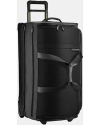 Briggs & Riley Large Baseline 29-inch Rolling Duffle Bag - Black
