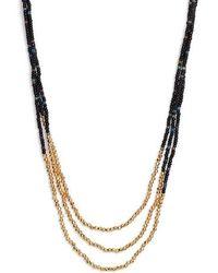 Gorjana - Sayulita Multistrand Necklace - Lyst
